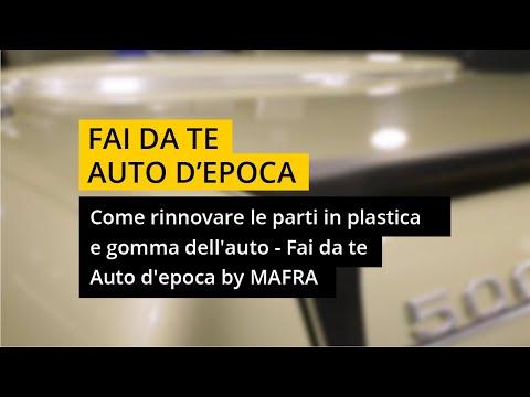 Come rinnovare le parti in plastica e gomma dell'auto - Il Fai da te by MAFRA + Ruoteclassiche