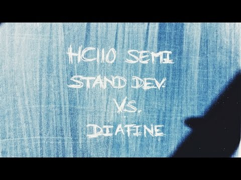 Semi Stand Dev HC110 vs Diafine TriX EI 3200, test 1