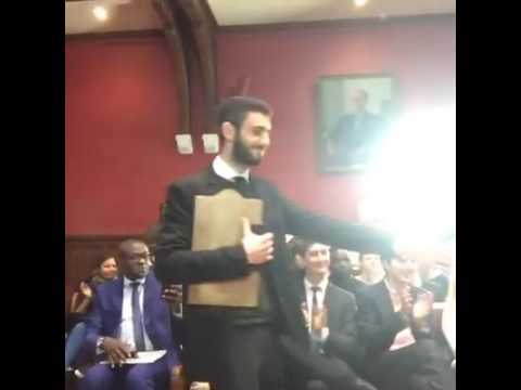 Goodluck jonathan at oxford union Q and A part 1