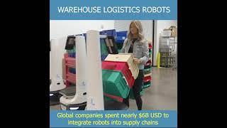 Video: Robotizace skladové logistiky