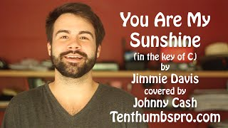 You Are My Sunshine - Easy Beginner Ukulele Song - How to play Ukulele Great First Song Tutorial