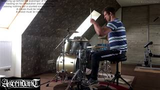 Ascendant - 'The Astral Sleep' - Drum Cover