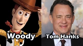 Characters and Voice Actors - Toy Story
