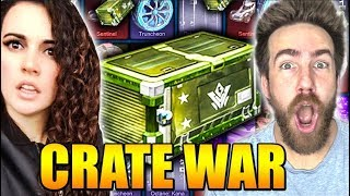 VINDICATOR CRATE WAR Against Athena!