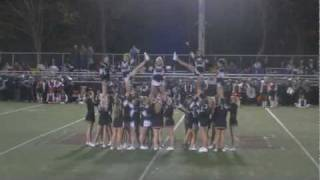 preview picture of video '2011 Meadville Sr. High Cheer - Football Season Senior Night'