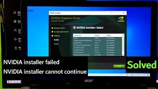 nvidia geforce experience failed to install windows 10 - Thủ thuật
