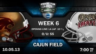 College Football Picks: Texas St Bobcats Vs Louisiana-Lafayette Ragin' Cajuns W Steve CFW, Loshak