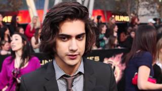 Avan Jogia - The Hunger Games Premiere Interview