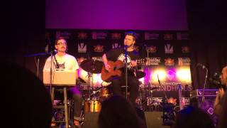 """Alt-J """"Left Hand Free"""" Acoustic at Inspire Theater during Life Is Beautiful Festival 10/25/14"""