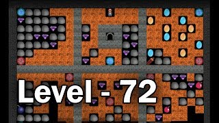 Diamond mine level 72 collected all 30 diamonds