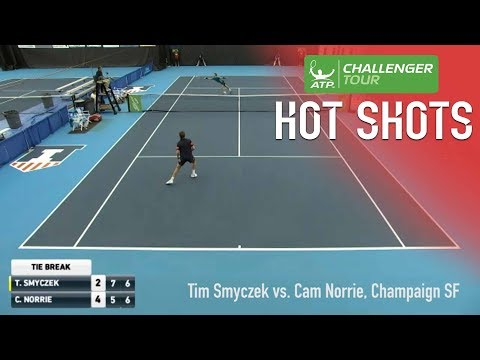 Smyczek, Norrie Put On A Show At Champaign Challenger 2017