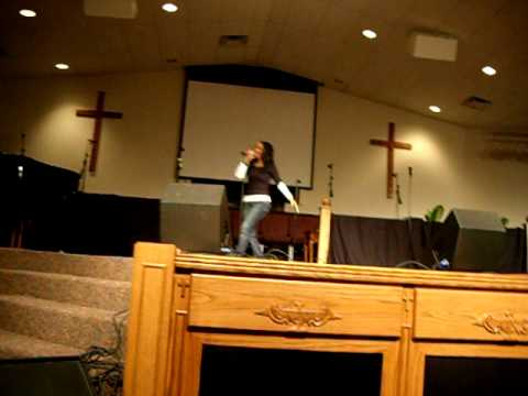 Mz Virtuous ministering over in Orlando/Oveido at Antioch Ministries.