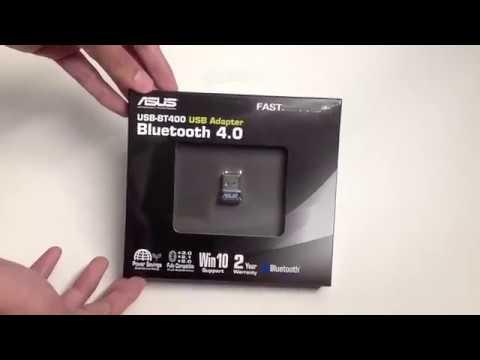ASUS USB BT-400 USB Adapter Bluetooth 4.0 Unboxing