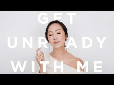 Get Unready With Me   10 Step Travel Skincare Routine