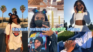 CASUAL SUMMER OUTFIT IDEAS | Summer Outfit Lookbook | Streetwear Outfits | StateofDallas