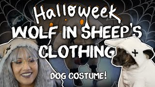 Wolf In Sheeps Clothing Dog Costume -DIY- ✧Halloweek 2018✧