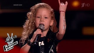 """Ksenia Shaplyko. """"Districts"""" - Blind auditions - The Voice Kids Russia - Season 7"""