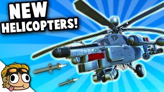 NEW RAVENFIELD HELICOPTERS! | Ravenfield Mod Gameplay