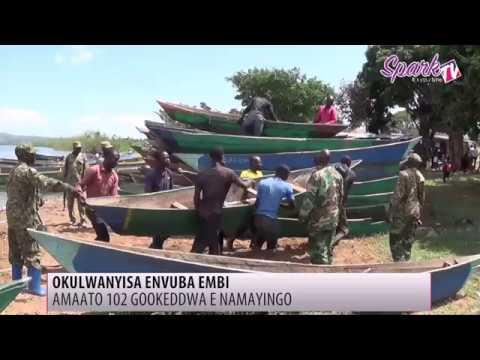 UPDF ekoze ekikwekweo ku nvuba emenya amateeka e Namanyingo, amaato 102 gookeddwa