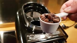 TurboTronic ZPRESSO Edelstahl Kaffeemaschine mit integrierten Mahlwerk