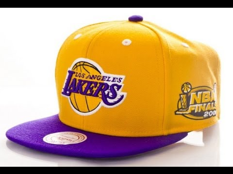 Mitchell & Ness Finals Snapback 2001 Los Angeles Lakers