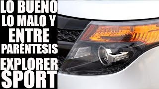 Ford Explorer Sport 2015, review en español