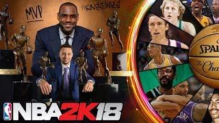 Wheel of NBA2K MVPs