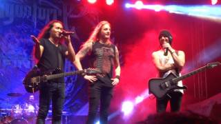 [HD] DragonForce - Cry Thunder - Live in Jogja, 5/5/2017 [FANCAM]