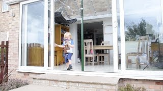 Builders Leave Family Home With