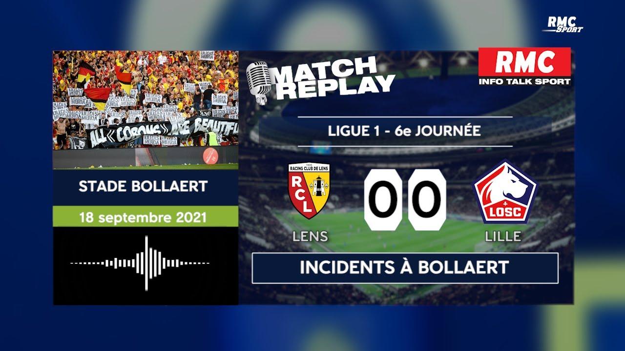 Lens - Lille : Les incident entre supporters avec les commentaires de RMC