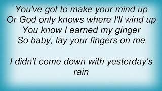 Sweet - Yesterday's Rain Lyrics