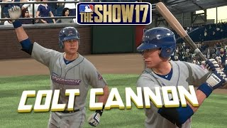 MLB The Show 17 Colt Cannon Road To The Show Left Fielder EP5 MLB 17