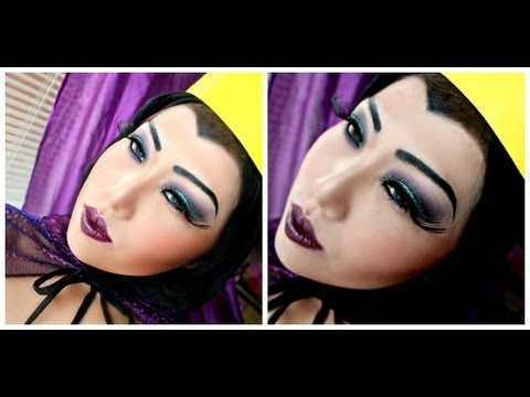 Evil Queen makeup tutorial