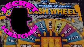 NEW $3 The CASH WHEEL Tickets from the Ohio Lottery. Watch Whole Video for Bonus Scratch.