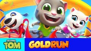 NEW in Talking Tom Gold Run - Win the Race!