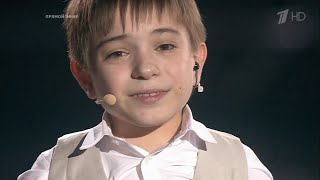 A Russian disabled boy won The Voice Kids 2016