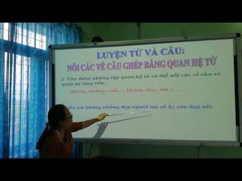 LTVC LỚP 5 nối các vế câu ghép bằng quan hệ từ Võ Thị Thu Ánh TrườngTH Số 2 Phước Hòa