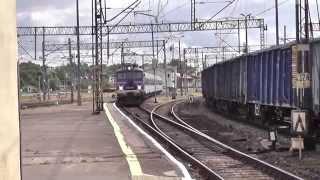 preview picture of video 'Inowrocław dw. PKP - Jamnik ET41-072 vs. EU07-358 z TLK Heweliusz'