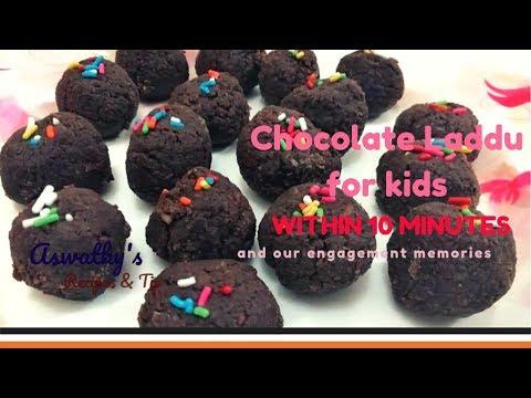 Chocolate Laddu for Kids within 10 miutes | 10 മിനിട്ടിൽ തയ്യാറാക്കാൻ പറ്റുന്ന ചോക്ലേറ്റ് ലഡ്ഡു