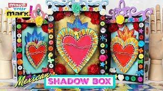 Shadow Box DIY - Mexico Inspired