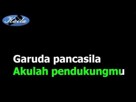 Sudharnoto   lagu garuda pancasila  versi karaoke   lirik tanpa suara