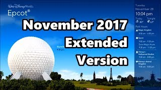 WDW Today November 2017 | Extended Version - HQ Audio | Walt Disney World Information Channel