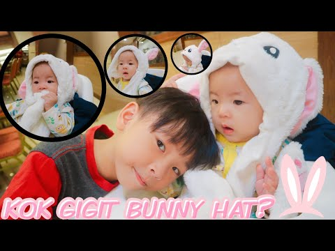 Cute Bunny Hat LED for Tik Tok user