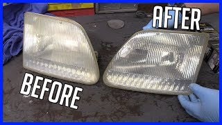 Headlight Lens Housing Restore