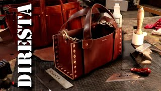 DiResta Leather Bag No Stitching