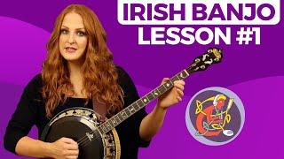 Irish Banjo Lesson 1 - [The Basics] Start Here