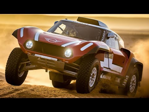 MINI John Cooper Works Buggy. Dakar Rally 2018