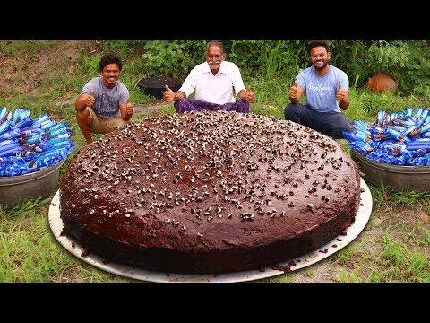 Biggest Oreo Chocolate Cake Recipe Prepared By Our Grandpa Oreo Bis