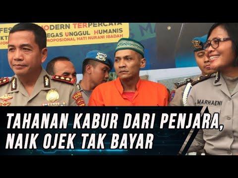 Kabur  Naik Ojek Tanpa Bayar, 1 dari 4 Tahanan Kota Malang kembali Tertangkap Polisi