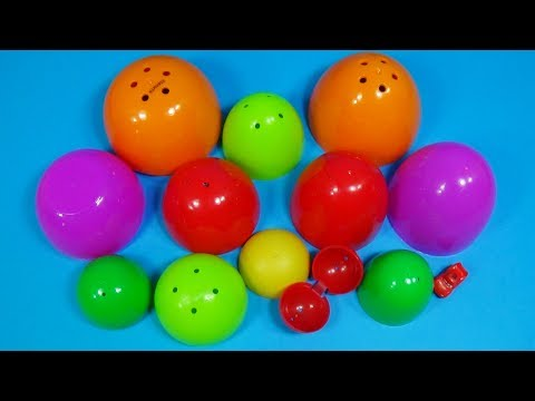 8 Surprise Eggs  - One Toy! Disney Pixar CARS Lighting McQueen!